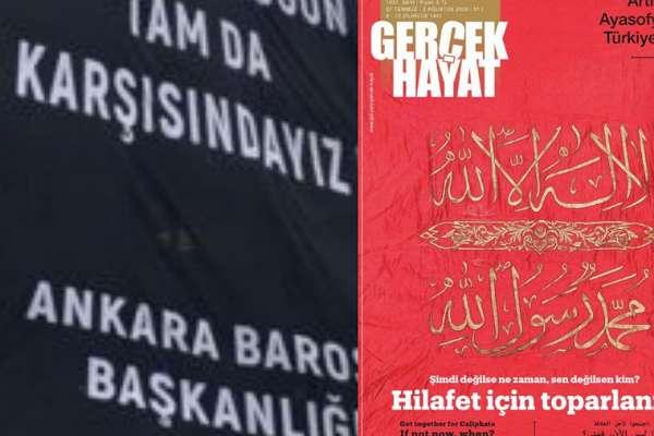 Ankara Barosu, 'hilafet' çağrısına karşı harekete geçti