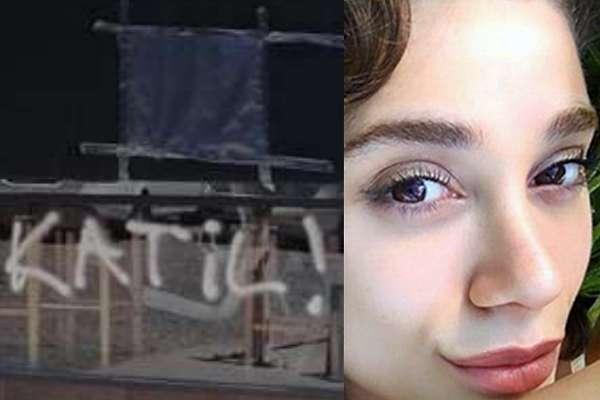 Pınar Gültekin'in katilinin barına yazılan 'katil' ifadesi silindi