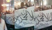 Pakistanlaşan Türkiye! Ayasofya'da tekbirlerle Taliban bayrağı açtılar