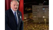 Belarus'ta sokaklar yanıyor: Seçimi çeyrek asırlık diktatör kazandı!