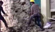 İBB'nin kontrolünden alınan Galata Kulesi'ni matkapla yıktılar