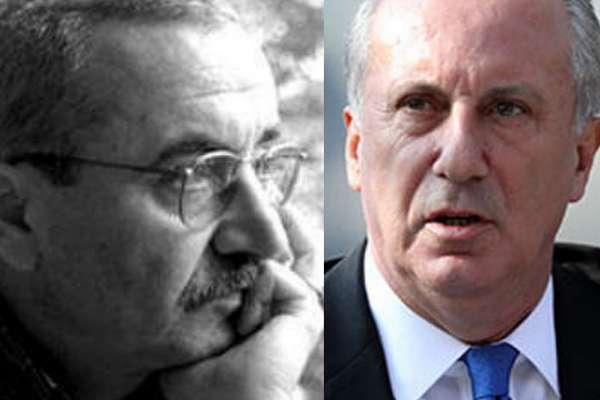 """Şair Şükrü Erbaş'tan İnce'ye: Kendi partisine karşı """"hareket"""" başlatan politika dehası!"""