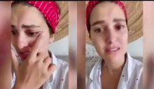 Bergüzar Korel ağlayarak yardım istedi: Yalvarırım!