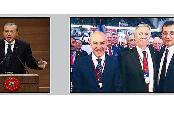 Erdoğan'dan yerel yönetimlerin yetkilerini kısma sinyali