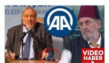 AA, Fesli'yi eleştiren İlber Ortaylı'nın önünden mikrofonu aldı!