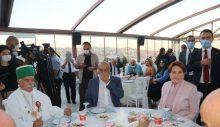 Akşener, Muharrem Orucu iftarında Alevilerin konuğu oldu