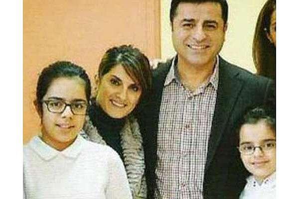 Demirtaş'ın çocuklarını birlikte görmesine izin verilmedi