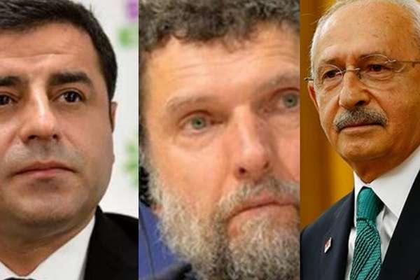 Kılıçdaroğlu'ndan Demirtaş ve Kavala mesajı: Göğüslerinde hep bir şeref madalyası olarak taşıyacaklar!
