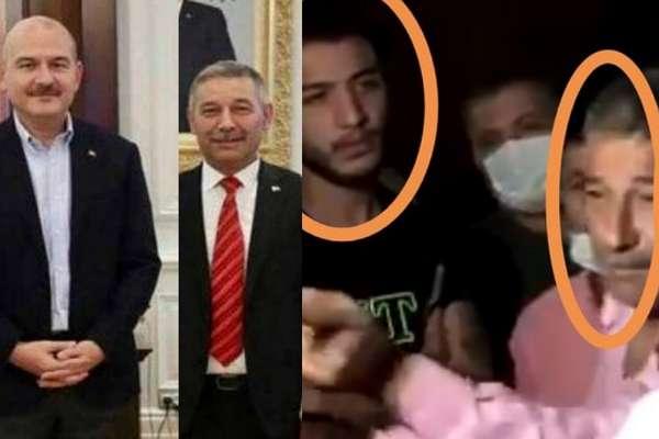 Aleyna Çakır'ın ölümünün şüphelisi Ümitcan Uygun'un babasının Soylu ile fotoğrafı çıktı