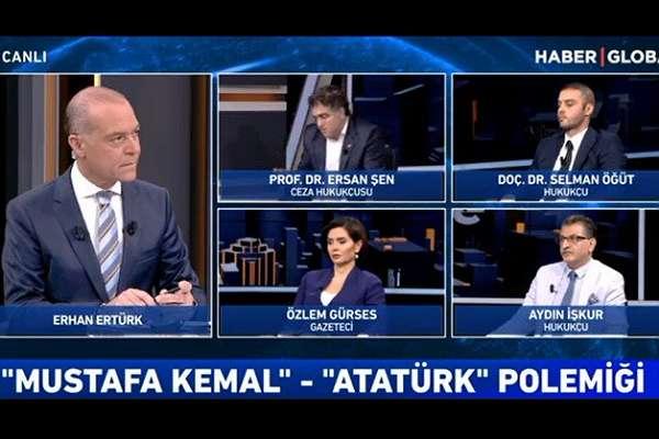 """Program sunucusuna """"Otur oraya!"""" diye emir veren Atatürk düşmanı Selman Öğüt, yayını terk etti"""
