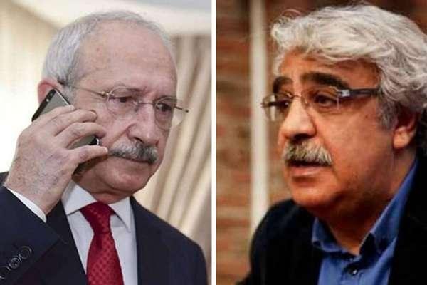 Kılıçdaroğlu'ndan Mithat Sancar'a dayanışma telefonu