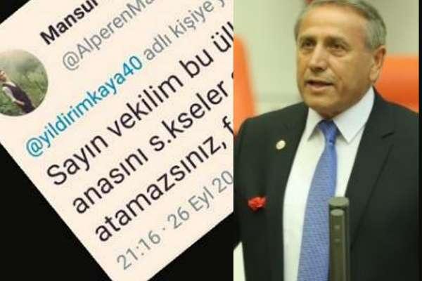 CHP'li Yıldırım Kaya, o tweet'e isyan etti: Bir AKP Milletvekiline atılmış olsaydı nasıl bir işlem yapılırdı?