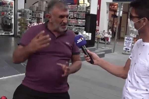 Sokak röportajında mikrofon uzatılan AKP üyesi: İç savaş çıkaracak insan yetiştiriyorlar