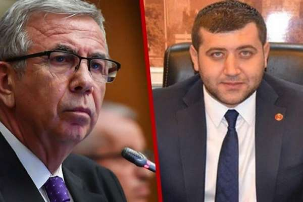 MHP'li vekil Mansur Yavaş'ı tehdit etti: Ezer geçeriz
