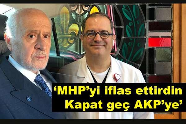 """Prof. Dr. Çilingiroğlu'dan Bahçeli'ye: """"İmparatorluk mu kuruyorsun lan, MHP'yi kapat geç AKP'ye"""""""