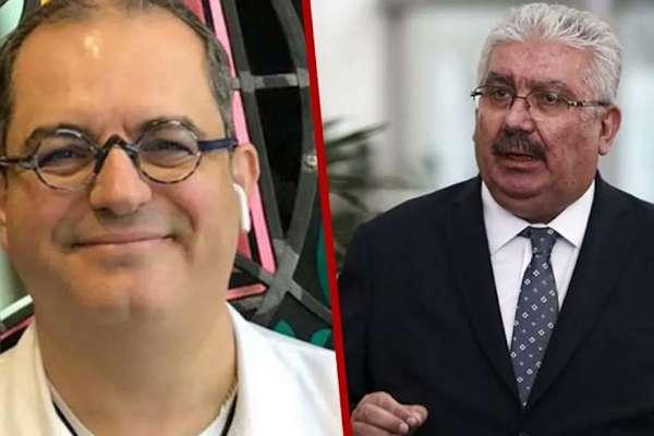 MHP'den Prof. Dr. Mehmet Çilingiroğlu'na tehdit