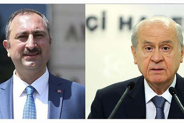 Adelet Bakanı Gül'den Bahçeli'ye 'AYM' desteği