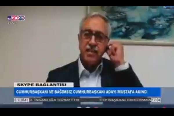 KKTC Cumhurbaşkanı Akıncı: Türkiye resmi makamlarınca aday olmamam için tehdit edildim
