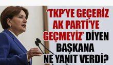 İyi Partili Belediye Başkanı'nın sözlerine Akşener yanıt verdi
