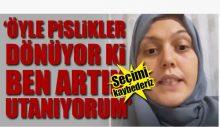 AKP'li kadın, AKP'lileri Erdoğan'a şikayet etti!
