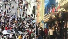 """Vali, cihatçıların eylemini böyle değerlendirdi: """"Birkaç Suriyeli genç Fransa'yı protesto etti"""""""