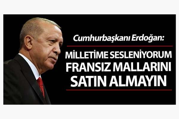 'Boykot' çağrısı yapan Erdoğan'a hatırlatma: Grip aşısı gönderen 'tek firma' Fransız