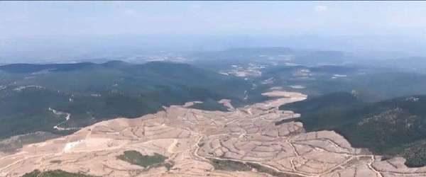 Alamos Gold'un devletten tazminat alarak çekildiği Kaz Dağları'na Cengiz Holding giriyor