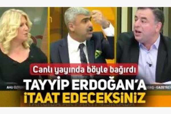 'Erdoğan'a itaat edeceksiniz' diye bağıran Mustafa Albayrak, FETÖ'ye de itaat etmiş!