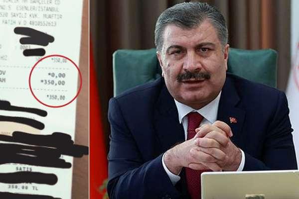 Fatih Altaylı, Fahrettin Koca'ya seslendi: 500 liraya test yaptırdım, kredi kartı ekstremi gösterebilirim!