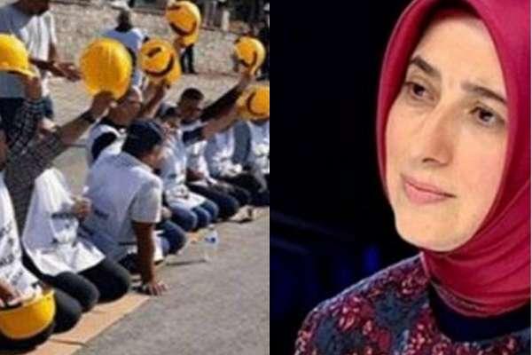 AKP'li Özlem Zengin, maden işçilerinin polis müdahalesiyle karşılaşmasını 'anlayamıyormuş!'