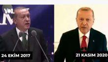 Erdoğan yine dümen kırdı,  Avrupa'ya göz kırptı!