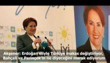 Akşener'den iktidarın küçük ortaklarına: Erdoğan eliyle Türkiye makas değiştiriyor, ne diyeceğinizi merak ediyorum