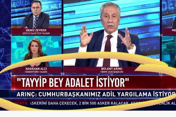 Erdoğan'dan Arınç'a 'fitne ateşi' tepkisi