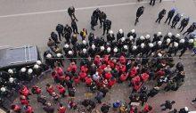 Alın size reform! Ankara'ya yürümek isteyen metal işçilerine polis saldırısı: 99 gözaltı