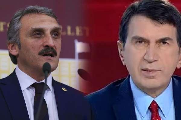 """AKP'li Ahmet Hamdi Çamlı'dan Türkiye gazetesi yazarı Fuat Uğur'a: """"Gazeteci bozuntusu"""""""