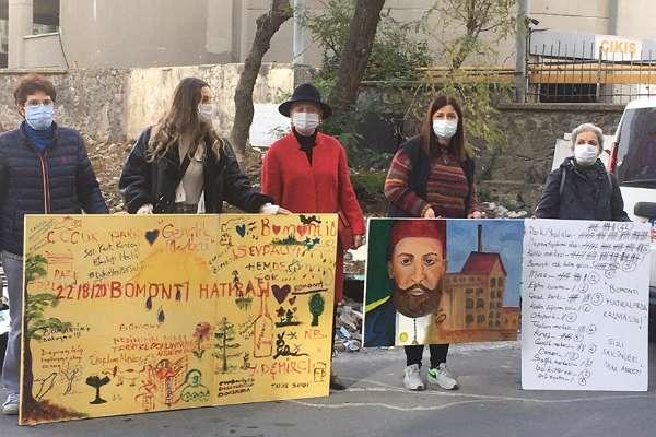 Yine salgın bahanesi: Polis, Bomonti Fabrikası için yapılan eylemi engelledi