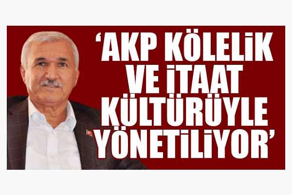 """Kemal Albayrak'tan AKP'ye """"kölelik"""" eleştirisi"""