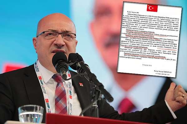 'Tank Palet Fabrikası'nda özelleştirme yok' diyenlere Erdoğan'ın imzaladığı kararnameyi gösterdi