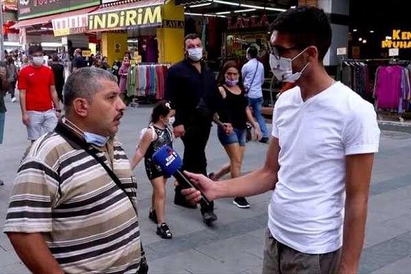 Sokak röportajında iktidarı eleştirdiği için tutuklanan Demirbaş, tahliye edildi
