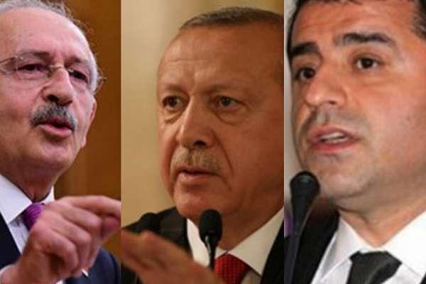 Erdoğan: Demirtaş gibi bir teröristin varsa, hakkını koruyacak değiliz. İnanıyorum ki yargımız böyle bir hak tanımaz