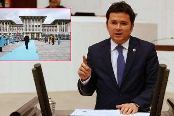 """CHP'li Aydın: """"Sarayın dört dakikalık gideri bir asgari ücretlinin bir yıl alacağı ücret"""""""