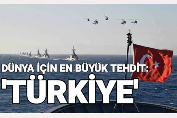 """İtalyanlar, Türkiye'yi """"Dünya için en büyük tehdit"""" olarak görüyor"""