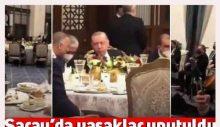 Millete 'sosyal mesafe', Erdoğan'a Saray'da sazlı sözlü eğlence
