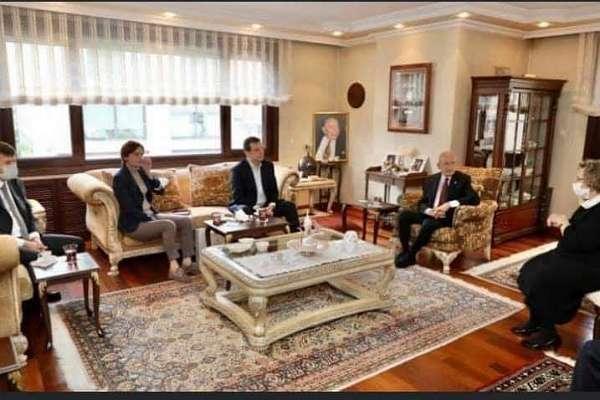 CHP, Maraş Katliamı'nın yıl dönümünde 'Türkeş'i ziyaret etti!