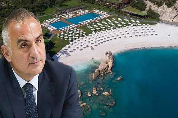 Bakan Mehmet Nuri Ersoy'a ait otelde yılbaşı partisi!