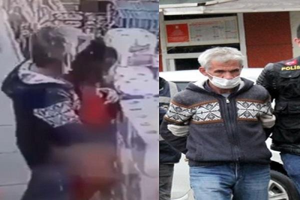 Markette çocuğa cinsel tacizde bulunan şahıs yakalandı