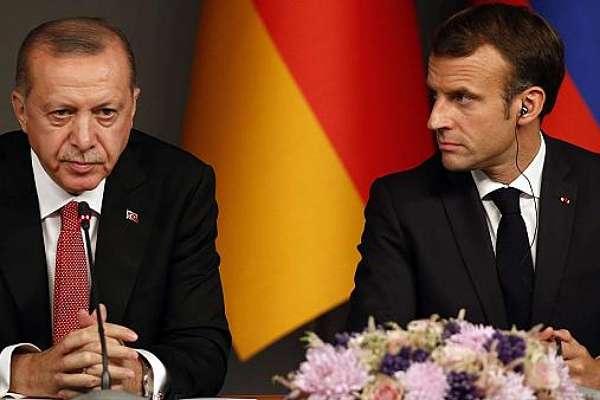 """Macron: """"Erdoğan hükümeti ile özgürlükçü Türkiye halkını ayırıyorum"""""""