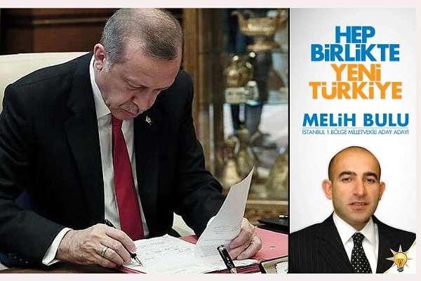 AKP milletvekili adayı Bulu, Boğaziçi Üniversitesi'ne rektör olarak atandı