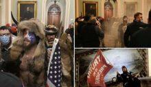 ABD'de bir ilk! Trump taraftarları kongreyi bastı