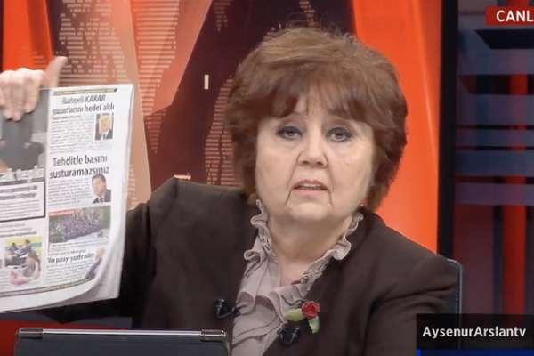 Bahçeli'nin basın danışmanı Ayşenur Arslan'ı hedef aldı